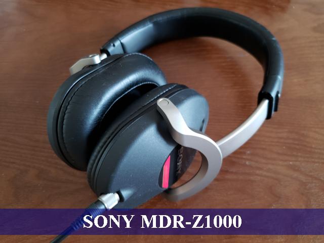 実際に使っているSONY MDR-Z1000